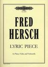 Hersch, Fred: Lyric Piece (piano, violin, cello)