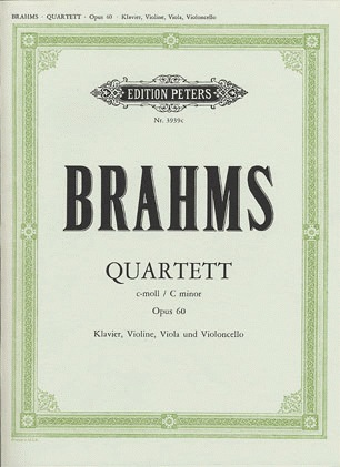 Brahms, Johannes: Piano Quartet Op.60 in c minor (piano, violin, viola, cello)