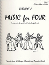 Last Resort Music Publishing Kelley, Daniel: Music for Four Vol.2 Favorites from the Baroque, Classical & Romantic Periods (Violin 1)