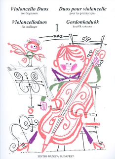 HAL LEONARD Pejsik, Arpad: Violoncello Duos for Beginners Vol.1 (2 cellos)