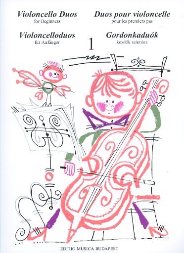 HAL LEONARD Pejsik, Arpad: Violoncello Duos for Beginners Vol.1 (2 cellos)