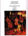 LudwigMasters Bach, J.S. (David): 4 Duets (S.802-5) for Violin & Viola