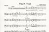 Budahl, M.J.: What a Friend (Cello & Piano)