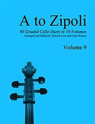 E & E Cello Music Laut, E. & Renyer, E. (arr.): A to Zipoli, Vol.9 (2 cellos)