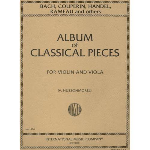 International Music Company Hussonmorel: Album of 6 Classical Pieces (violin & viola)