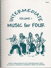 Last Resort Music Publishing Kelley, Daniel: Music for Four Intermediate Vol.1 (score)