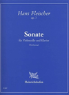 Fleischer, Hans: Sonate (cello & piano)