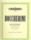 Boccherini (Grutzmacher): Cello Concerto in Bb Major (cello & piano)
