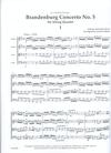LudwigMasters Bach, J.S. (Latham): Brandenburg Concerto No. 5 arranged for string quartet (score & parts)
