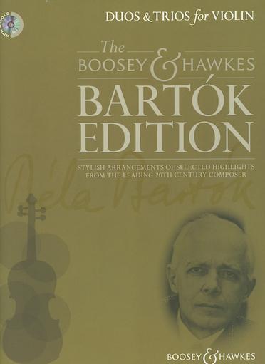 HAL LEONARD Bartok (Davies): Duos & Trios (2 violins/3 violins)(CD)