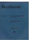 HAL LEONARD Beethoven, L.van (Platen, ed.): String Quartet in Eb, Op. 127, urtext (2 violin, viola, and cello)