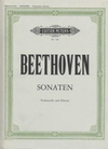 Beethoven (Schulz): 5 Sonatas (cello, piano) PETERS