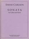 Carl Fischer Carlson, David: Sonata for Cello & Piano