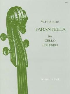 Galaxy Music Squire, W.H.: Tarantella (cello & piano)