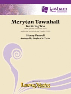 Purcell, H (Taylor): Meryton Townhall (string  trio) Latham