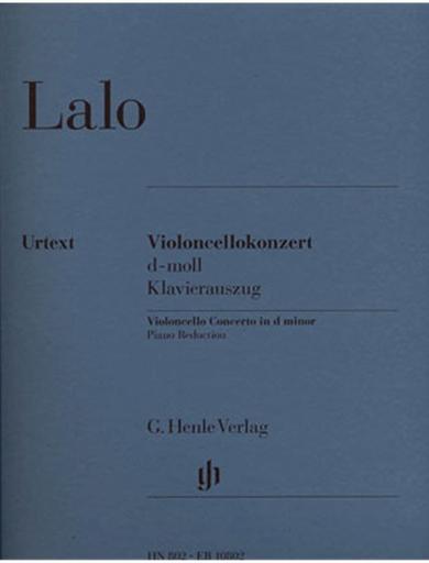 HAL LEONARD Lalo, E. (Jost, ed.): Concerto in D, urtext (cello & piano)
