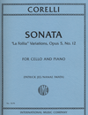 International Music Company Corelli, Arcangelo: Sonata, La Follia Variations Op. 5 No. 12 (cello & piano)