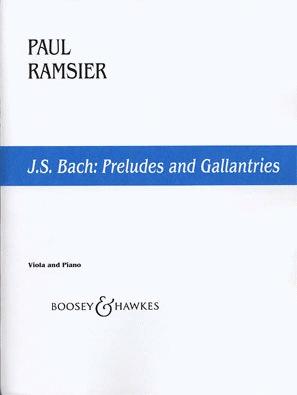 HAL LEONARD Bach, J.S. (Ramsier): Preludes (cello)