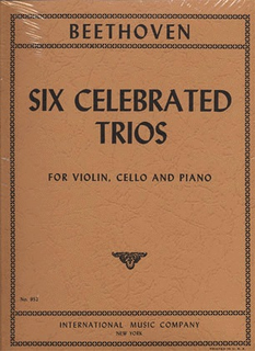 International Music Company Beethoven, L.van: Six Celebrated Trios (Violin, Cello, Piano)