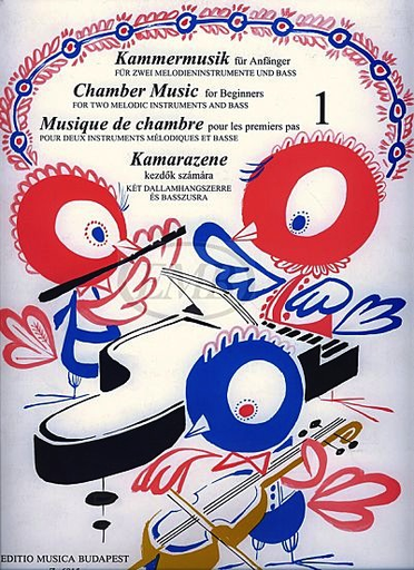 HAL LEONARD Mariassy: Chamber Music Vol.1 (2 melodic instruments, Cello, Piano)
