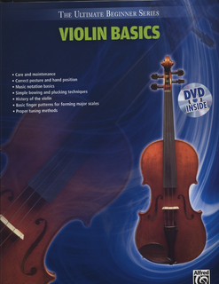 Alfred Music The Ultimate Beginner Series Violin Basics