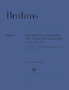 HAL LEONARD Brahms, J. (Hogwood): Trio, Op.114 in A Minor (clarinet, cello, and piano) Barenreiter Urtext