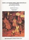 LudwigMasters De Falla, Manuel: Seven Spanish Folksongs (cello & piano)