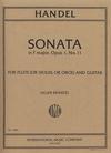 International Music Company Handel, G.F.: Sonata in F Major Op.1 No. 11 for violin & guitar
