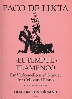 Lucia, Paco de (Thomas-Mifune): El Tempul Flamenco (cello & piano)