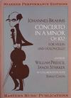 Masters Music Publications Brahms, J. (Preucil/Starker): Concerto for Violin and Cello, Op.102 - Double Concerto (violin, cello, & piano)