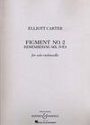 HAL LEONARD Carter, E.: Figment No. 2, Remembering Mr. Ives (cello)