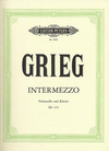 Grieg, Edvard: Intermezzo (cello & piano)