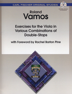 Carl Fischer Vamos, Roland: Exercises for the Viola in Various Combinations of Double Stops