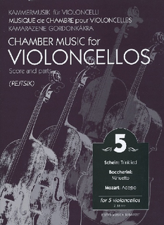 HAL LEONARD Pejtsik, Arpad: Chamber Music for Violoncellos (5 cellos), Edito Musica Budapest