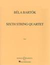 HAL LEONARD Bartok: String Quartet No.6 (string quartet) Boosey & Hawkes