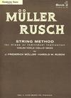 Muller, J.F. & Rusch, H.W.: (Score) String Method, Bk.2 (piano accompaniment)