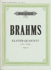 Brahms, Johannes: Piano Quartet in A major Op.26 (violin, viola, cello, piano)