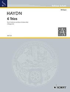 HAL LEONARD Haydn, F.J.: 6 Trios for Two Violins and Bass (two violins, and bass/cello)