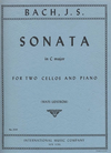 International Music Company Bach (Lidstrom): Sonata in C Major (2 cellos & piano)