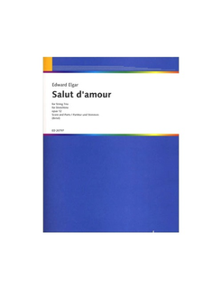 HAL LEONARD Elgar, E. (Birtel, arr.): Salut d'amour, Op. 12, (violin, viola, and cello)