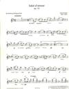 HAL LEONARD Elgar, E. (Birtel, arr.): Salut d'amour, Op. 12, (violin, viola, and cello)