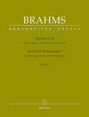 Barenreiter Brahms (Hogwood): Sextet No.1 in Bb Major, Op.18 - URTEXT (string sextett) Barenreiter