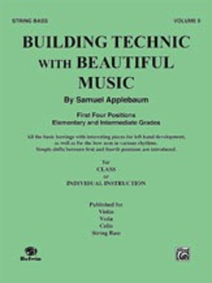 Alfred Music Applebaum, Samuel: Building Technic with Beautiful Music Bk.2 (bass)