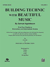 Alfred Music Applebaum, Samuel: Building Technic with Beautiful Music Bk.2 (bass)