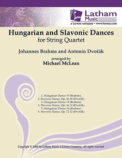 LudwigMasters Brahms & Dvorak (McLean): Hungarian & Slavonic Dances (string quartet) LudwigMasters