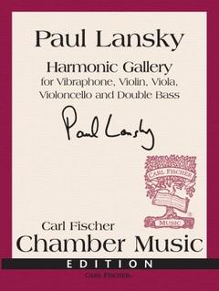 Carl Fischer Lansky: Harmonic Gallery (vibraphone, violin, viola, cello, bass) FISCHER