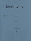 HAL LEONARD Beethoven, L.van (Kross, ed.): Piano Quartets, urtext (violin, viola, cello, and piano)