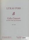Carl Fischer Foss, Lukas: Cello Concerto (cello & piano)