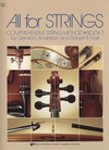 Anderson & Frost: All for Strings, Bk.1 (cello) Kjos