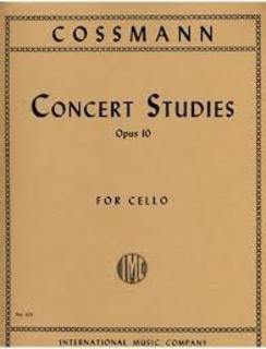 International Music Company Cossman, Bernhard: Concert Studies, Op. 10 (cello)